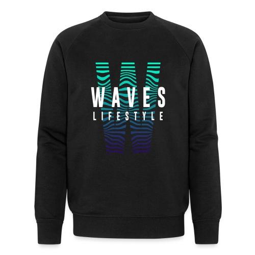 WAVES - Waves Lifestyle - Felpa ecologica da uomo