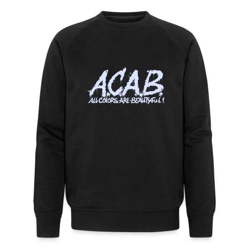 ACAB - Økologisk Stanley & Stella sweatshirt til herrer