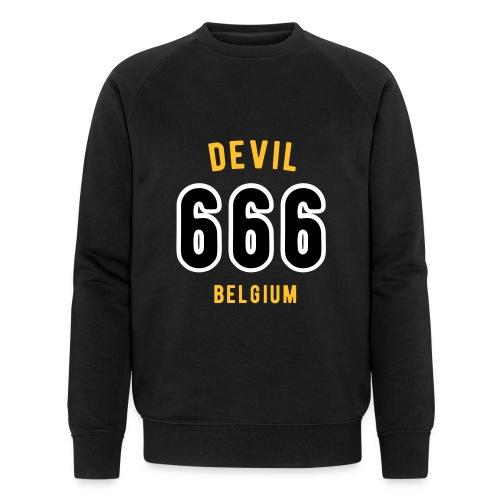 666 devil Belgium - Sweat-shirt bio Stanley & Stella Homme