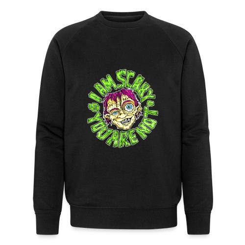 I am scary - Männer Bio-Sweatshirt von Stanley & Stella