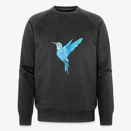 Kolibri Geometrisch - Männer Bio-Sweatshirt von Stanley & Stella