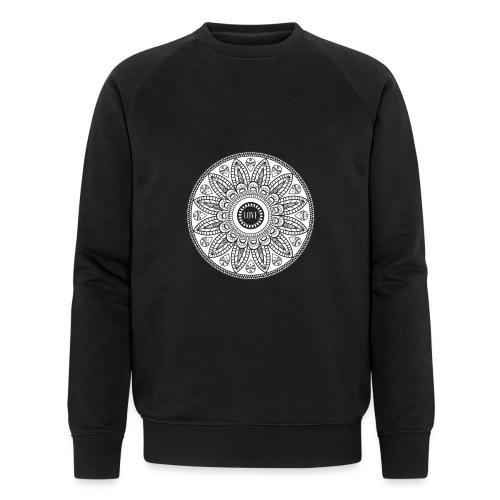 Mandala mit Schriftzug Love - Männer Bio-Sweatshirt von Stanley & Stella