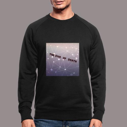 The duo of death logo - Mannen bio sweatshirt