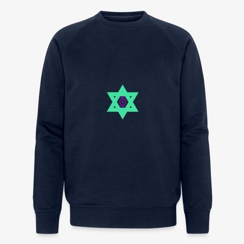 Star eye - Men's Organic Sweatshirt by Stanley & Stella