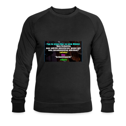 SchnitLauch - Männer Bio-Sweatshirt von Stanley & Stella