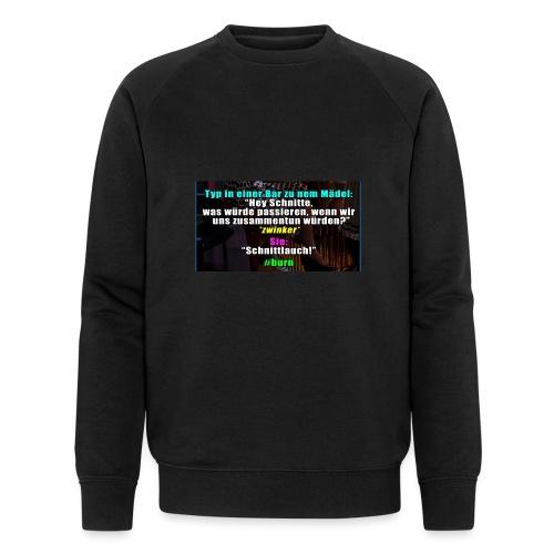 SchnitLauch - Männer Bio-Sweatshirt