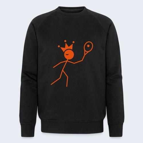 Tenniskoning - Mannen bio sweatshirt van Stanley & Stella