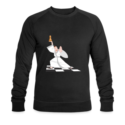 Tell it to the hand! - Men's Organic Sweatshirt by Stanley & Stella