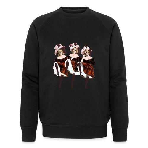 Vintage Dancers - Men's Organic Sweatshirt by Stanley & Stella