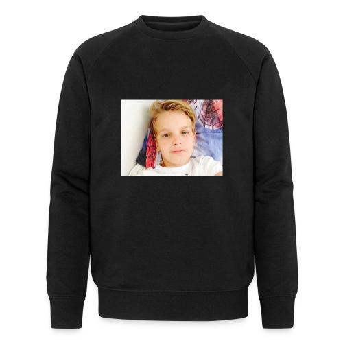 first design - Økologisk sweatshirt til herrer