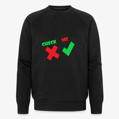 CheckMe - Mannen bio sweatshirt van Stanley & Stella