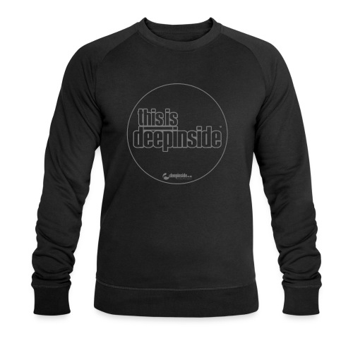 This is DEEPINSIDE Circle logo gray - Men's Organic Sweatshirt by Stanley & Stella