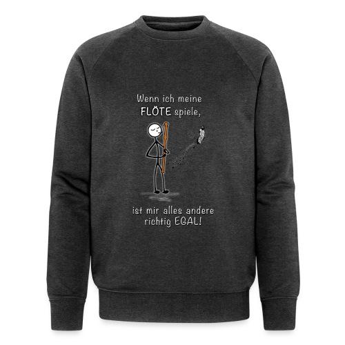 Recorder Love f. dark colours - Men's Organic Sweatshirt by Stanley & Stella