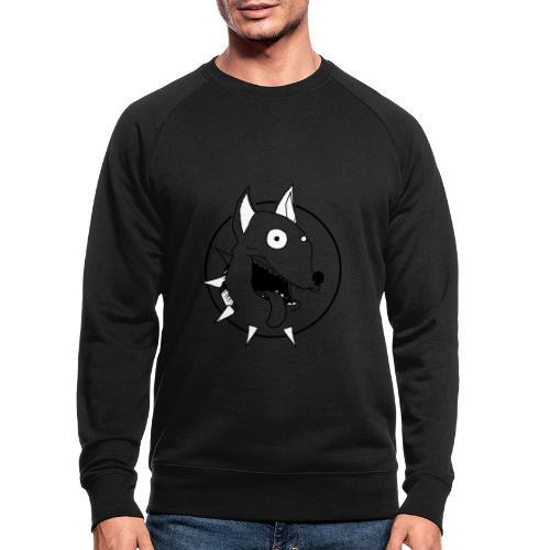 chien fou - Sweat-shirt bio