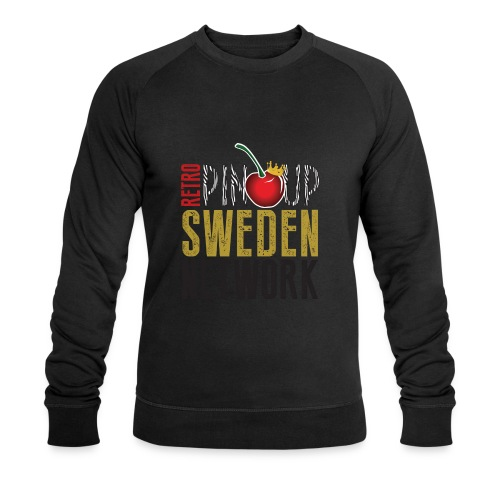 Tanktop Retro Pinup Sweden Crew utsvängd - Ekologisk sweatshirt herr från Stanley & Stella