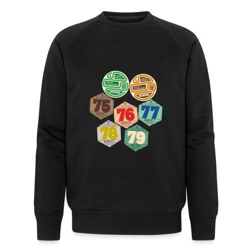 Vignettes automobiles années 70 - Sweat-shirt bio Stanley & Stella Homme