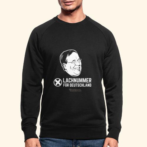 Lachnummer für Deutschland - Männer Bio-Sweatshirt