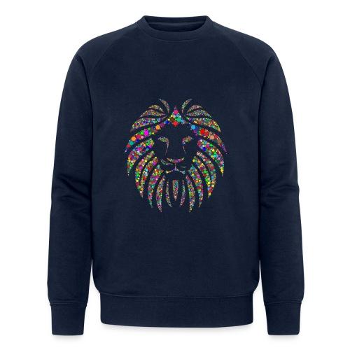 Ausdruck des Löwen - Männer Bio-Sweatshirt von Stanley & Stella