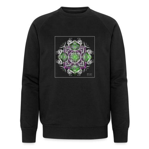 Mandala 250220 ds. A - Men's Organic Sweatshirt by Stanley & Stella
