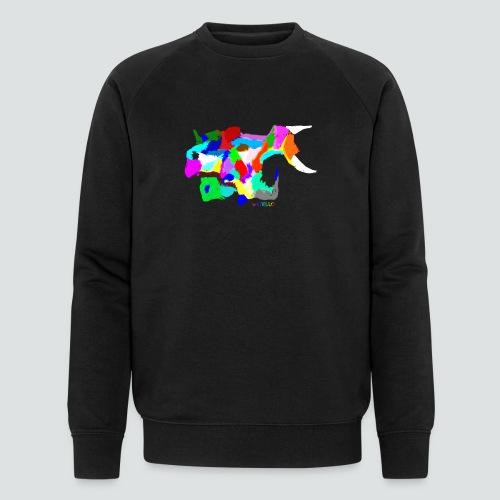 Papageienfisch2 png - Männer Bio-Sweatshirt von Stanley & Stella