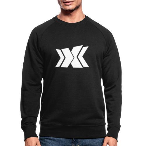RLC Weiß - Männer Bio-Sweatshirt