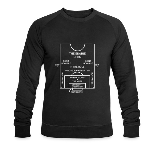 Football Pitch.png - Men's Organic Sweatshirt by Stanley & Stella
