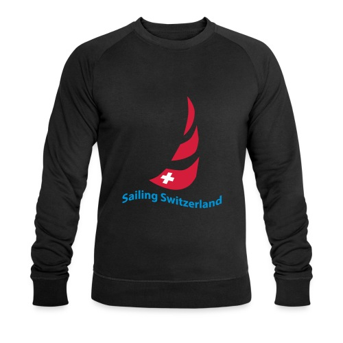 logo sailing switzerland - Männer Bio-Sweatshirt von Stanley & Stella