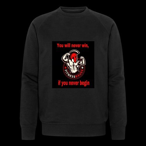 You will never win - Männer Bio-Sweatshirt von Stanley & Stella