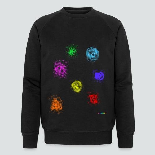 Farben png - Männer Bio-Sweatshirt