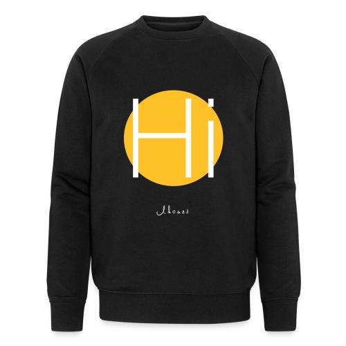Hi circle - Men's Organic Sweatshirt