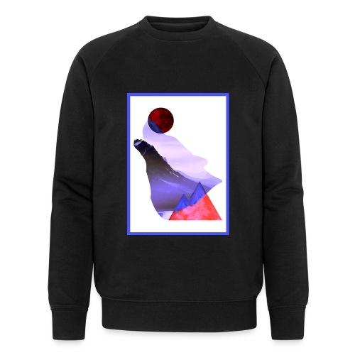 Måne Ulv - Laurids B Design - Økologisk Stanley & Stella sweatshirt til herrer