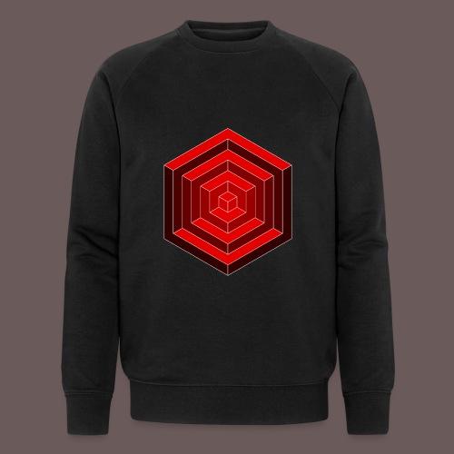 Hexagon Cube - Økologisk Stanley & Stella sweatshirt til herrer