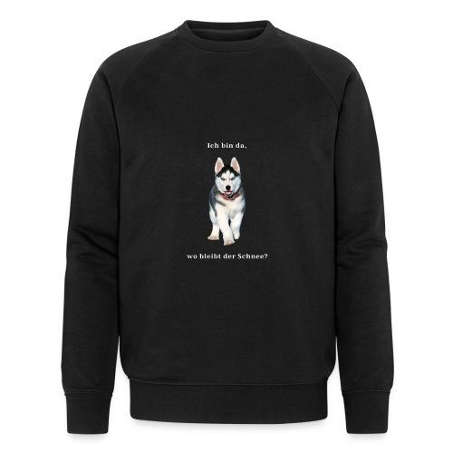 Husky Welpen mit bezaubernden Augen - Männer Bio-Sweatshirt von Stanley & Stella