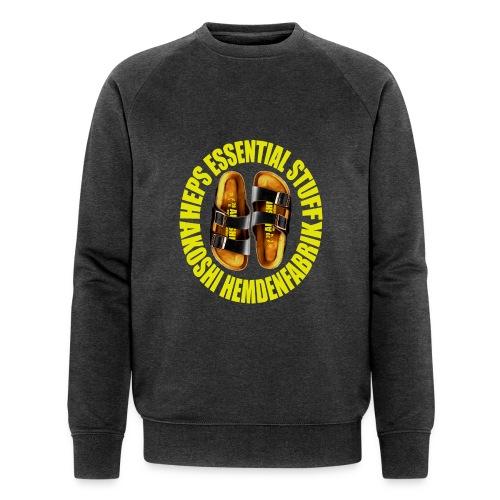 Laatschen Kitty vs. zitrone - Männer Bio-Sweatshirt von Stanley & Stella