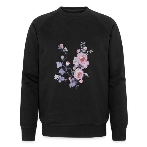 Schlichte Blumen - Männer Bio-Sweatshirt von Stanley & Stella