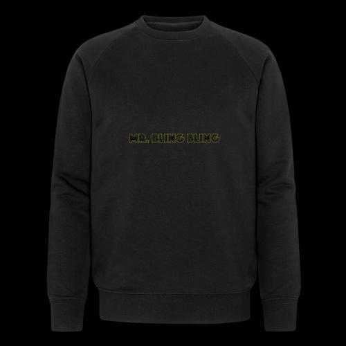 bling bling - Männer Bio-Sweatshirt