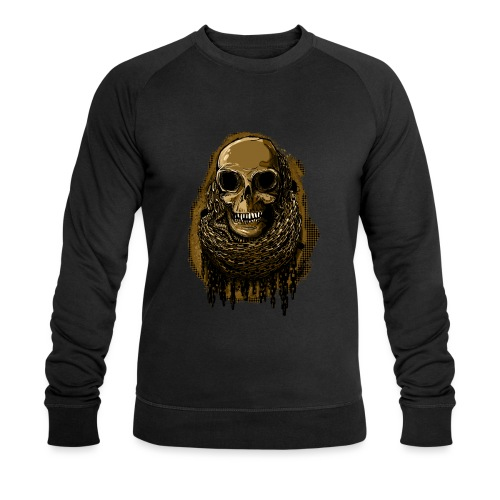Skull in Chains YeOllo - Men's Organic Sweatshirt by Stanley & Stella