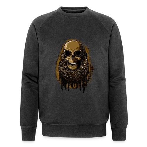Skull in Chains YeOllo - Men's Organic Sweatshirt by Stanley & Stella