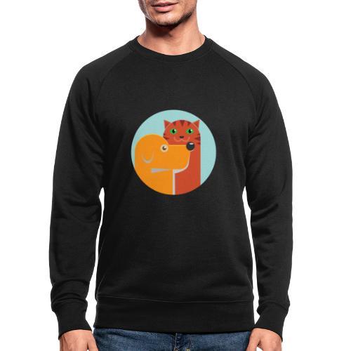 Tierfreund - Männer Bio-Sweatshirt