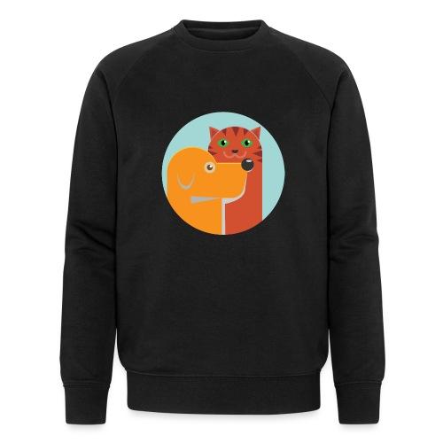 Tierfreund - Männer Bio-Sweatshirt von Stanley & Stella