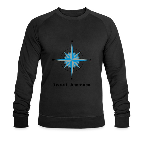 Windrose - Männer Bio-Sweatshirt von Stanley & Stella