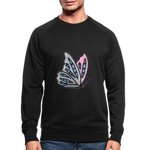 Fjäril - Ekologisk sweatshirt herr
