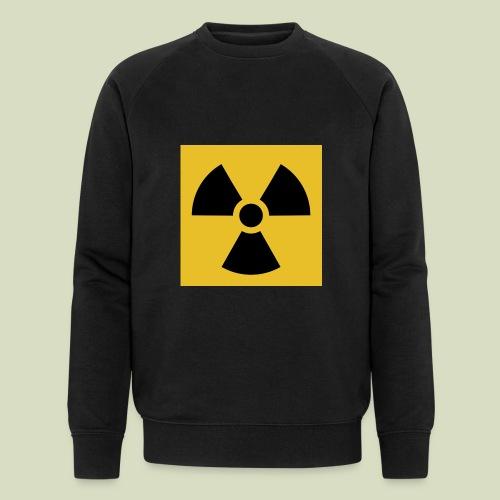 Radiation warning - Stanley & Stellan miesten luomucollegepaita