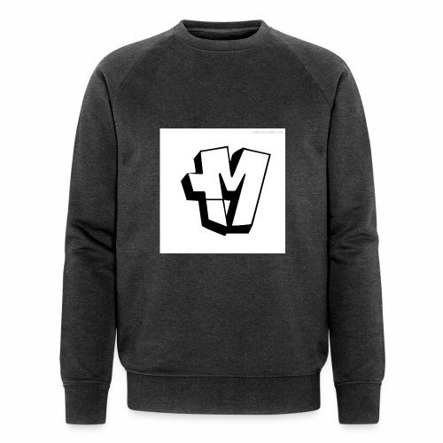 graffiti alphabet m - Men's Organic Sweatshirt by Stanley & Stella