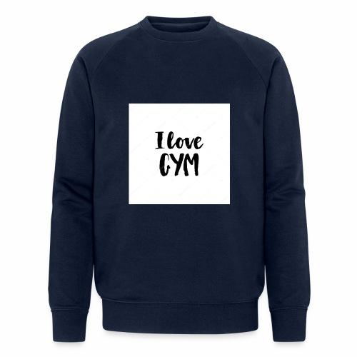 I love gym - Ekologisk sweatshirt herr från Stanley & Stella