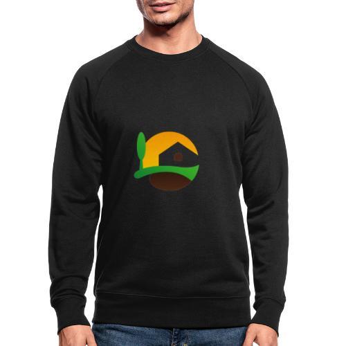 Neues Logo ohne Schriftzug - Männer Bio-Sweatshirt