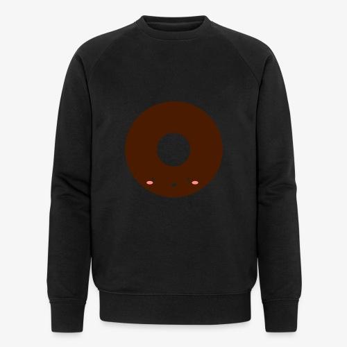Happy Doughnut - Men's Organic Sweatshirt by Stanley & Stella