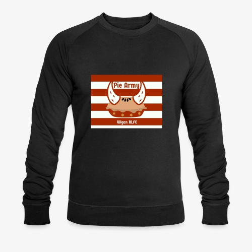 Pie Army - Men's Organic Sweatshirt by Stanley & Stella