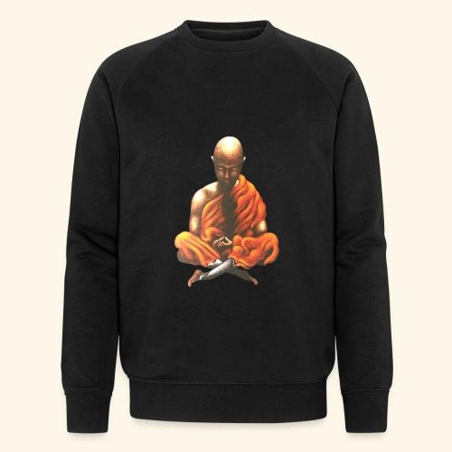 Yoga Meditation Spiritueller Buddhistischer Mönch - Männer Bio-Sweatshirt von Stanley & Stella