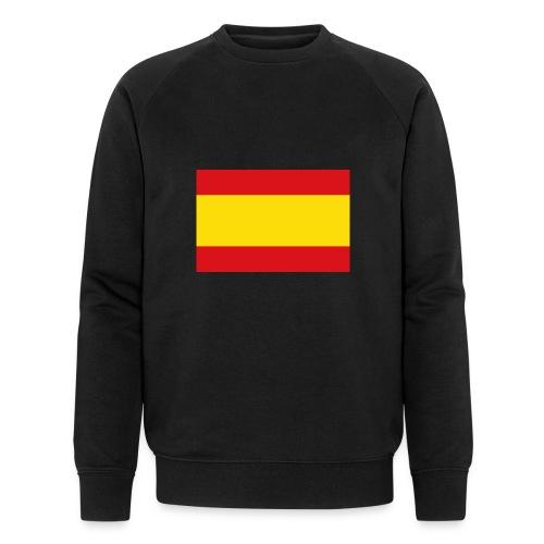 vlag van spanje - Mannen bio sweatshirt van Stanley & Stella